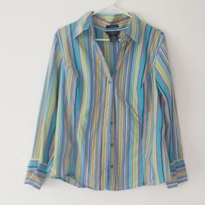 George ladies long sleeve button up shirt